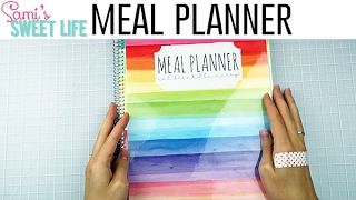 Meal Planner - New Carrie Elle Meal Planner Walk Through | Plan with Me Mondays