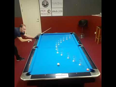 Pat Walsh   7pm - 10pm - Pro Pool Player Takes Series of Amazing Power Shots
