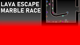 Lava Escape Marble Race