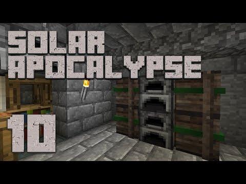 ►Solar Apocalypse LP: CLEAN UP! | Ep. 10 | Modded Minecraft Survival◄