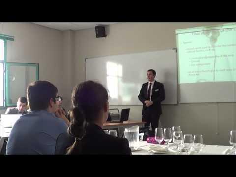 Les Roches Marbella Postgraduate Hospitality Students