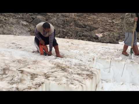 Toroslarda temmuzda kar nasıl bulunur