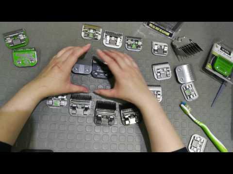 Ножи для машинок для стрижки животных собак и кошек обзор Andis Moser Oster