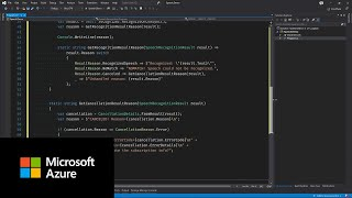 How to use Azure Cognitive Services .NET Speech SDK to recognize speech from a microphone