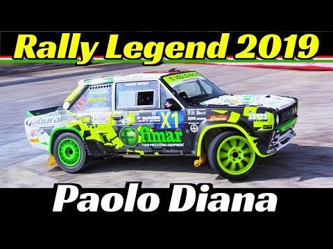 "Rally Legend San Marino 2019 - Paolo Diana ""Rally Hero"" - Ti Voglio Racing! - Jumps & Powerslides!"