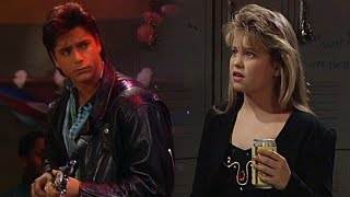 The 'Full House' When D.J. Got Busted Not Drinking Beer