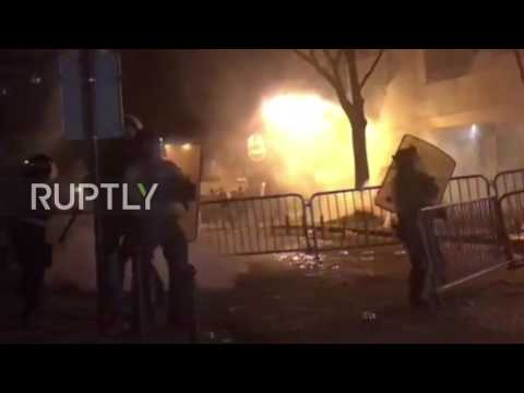 France: Tensions flare in Paris after police kill man