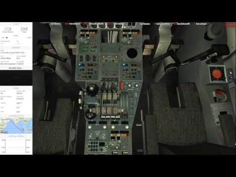Flug vom 28.06.2017 YPCC Cocos Keeling to OMDB Dubai