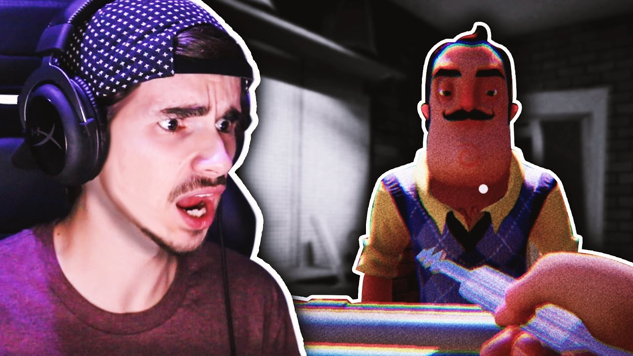 How To Beat The Game Hello Neighbor Ending Youtube