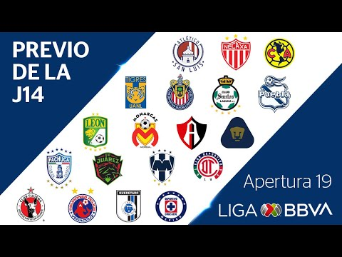 Previo de la Jornada 11 | Liga BBVA MX from YouTube · Duration:  1 minutes 8 seconds