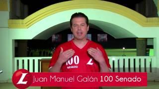 Juan Manuel Galán 100 La Nueva Opción del Partido Liberal