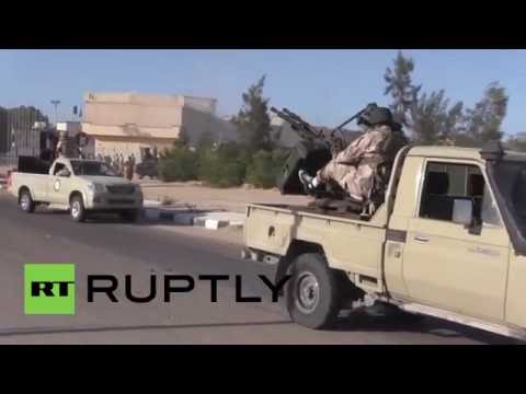 Libya: Tripoli-backed militants make gains in Sirte