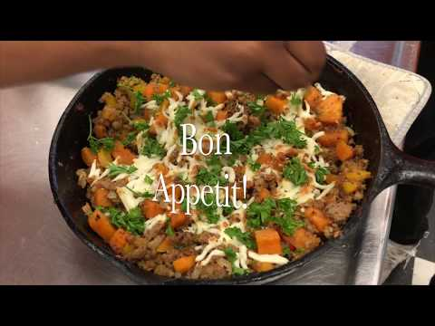 Charles Henderson High School NASA HUNCH Culinary Competition Video 2018