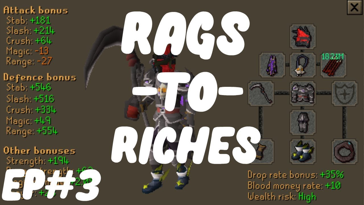 Spawn PK - WE DID ALOT OF RAIDS     OVER 420B GAMBLED GIVEAWAY RESULTS   RAGS TO RICHES  EP#3  
