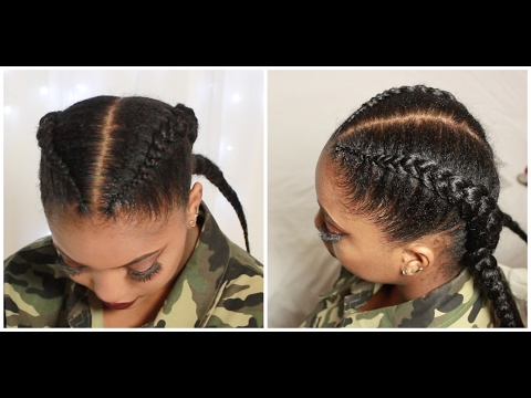 Crochet feed in braids  Christina cole inspired