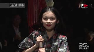 WRITTENAFTERWARDS Tokyo Fashion Week Fall 2016 by Fashion Channel