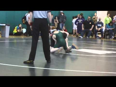 Willy's 1st Whatcom Middle School match as the #1 at 110 lbs.