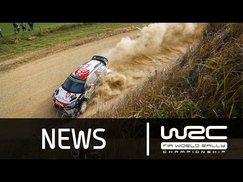 WRC - Coates Hire Rally Australia 2015: Stages 1-4