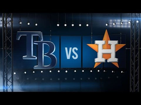 8/28/16: Archer, Duffy lead Rays to win over Astros