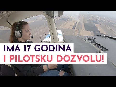 Nikolina ima samo 17 godina i dozvolu za letenje! | MONDO VIDEO
