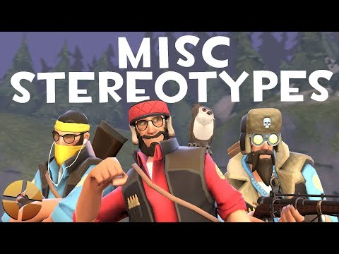 TF2] Misc Stereotypes! Episode 9: The Sniper - YouTube