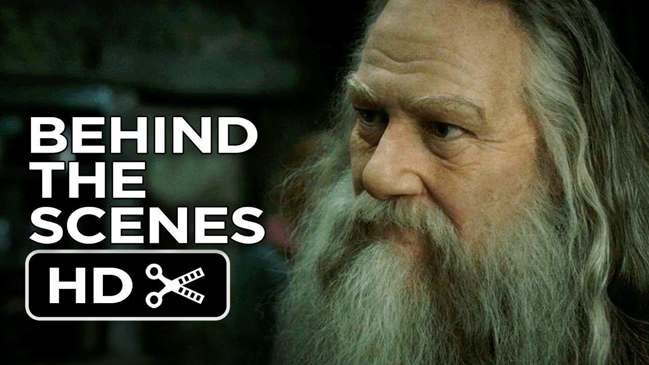 ... Deathly Hallows Part 2 BTS - Aberforth Dumbledore (2011) Movie HD