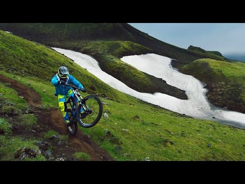 Freeride Mountain Biking Iceland