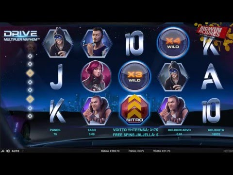 Drive Multiplier Mayhem Slot - BIG WIN! - YouTube