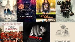 AJ's Movie Reviews: Fantastic Beasts, Billy Lynn, Edge of Seventeen, Hacksaw Ridge & More!(11-18-16)