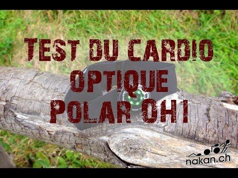 Repeat Test du capteur cardio optique Polar OH1 by nakan ch