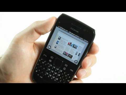 Nokia E6-00 UI demo