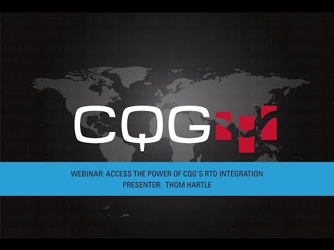 Access the Power of CQG's RTD Integration