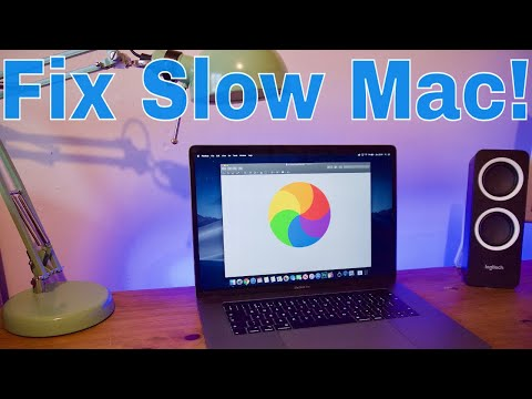 How To Fix A Slow Mac And Make It Fast Again - Mojave & Catalina