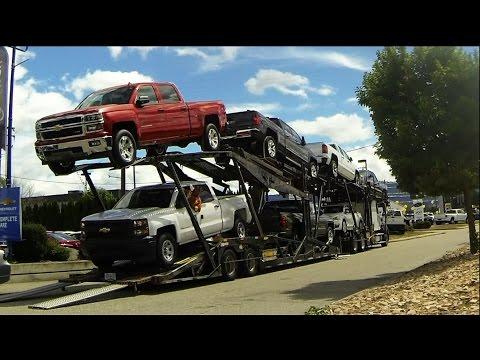 AUTO TRANSPORT CARRIER: Quick Unload -- GM [Car/Pickup Hauler]
