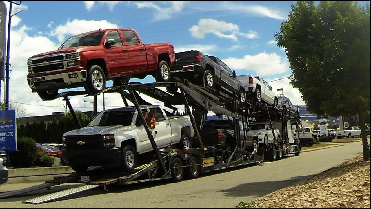 AUTO TRANSPORT CARRIER: Quick Unload -- GM [Car/Pickup ...