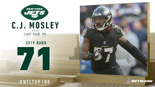 #71: C.J. Mosley (ILB, Jets) | Top 100 Players of 2019 | NFL