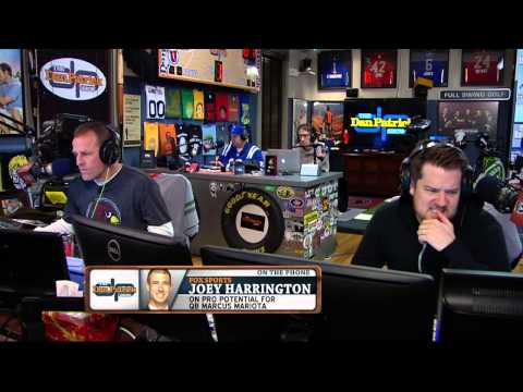 Joey Harrington on The Dan Patrick Show (Full Interview) 01/09/2015