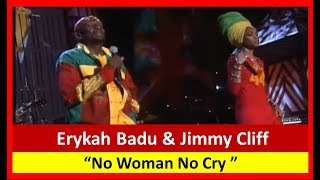 Bob Marley All Star Tribute   No Woman No Cry  Erykah Badu  Jimmy Cliff 05 One Love
