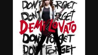 Repeat youtube video Demi Lovato Don't forget FULL album download