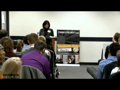 Shikha Dalmia Discusses Immigration at 2011 Students for Liberty International Conference