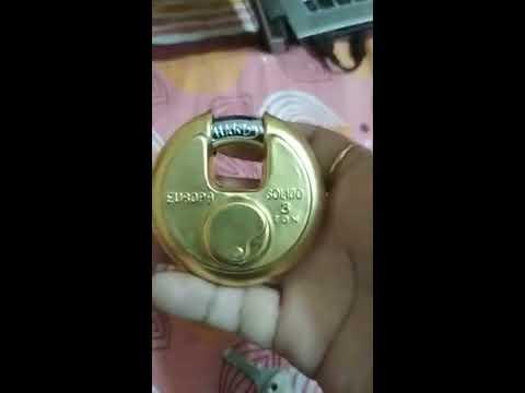 рд╕рдмрд╕реЗ рд╕реЗрдл рдФрд░ рдордЬрдмреВрдд рддрд╛рд▓рд╛ | Europa Disc padlock P-370 B1