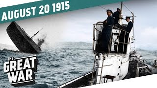 Escalation At Sea - Russia Up Against the Wall I THE GREAT WAR - Week 56