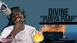 GULLY GANG!! 🇬🇧 UK REACTS TO DIVINE - Punya Paap (Prod. By iLL Wayno) | Official Music Video