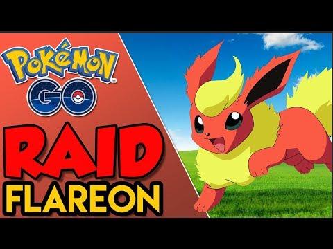 SOLANDO RAID DE FLAREON!VEIO 100%!   Pokémon Go   Derrotando Raid Boss (Parte 25) thumbnail