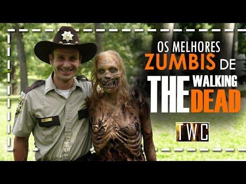 OS MELHORES ZUMBIS DE THE WALKING DEAD