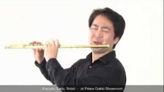 Our Guest Artist #09 Kazushi Saito, the flutist - at Prima Gakki Showroom