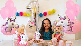ANIVERSÁRIO / HAPPY BIRTHDAY POMERANIAN CHLOE 1 ANO