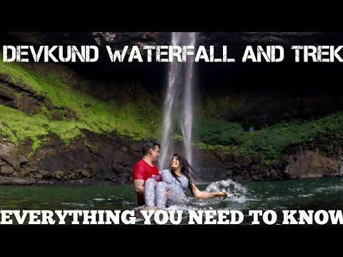 Devkund Waterfall   Best majestic waterfall near Mumbai & Pune (You should watch this)