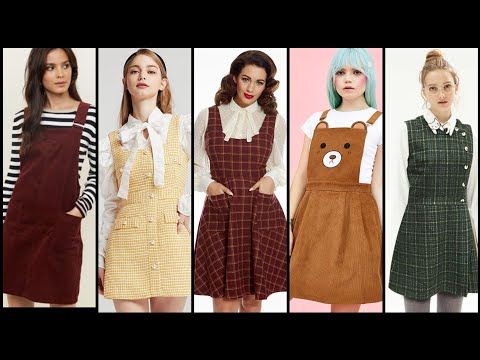 Top 60 Fabulous Pinafore Dress Collection For Womens 2019-20