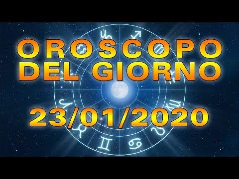 Oroscopo del Giorno Giovedì 23 Gennaio 2020!